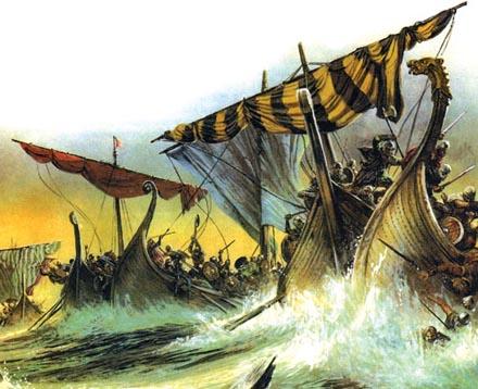 กองเรือหัวมังกรของพวกไวกิ้ง