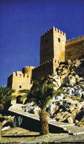 ป้อมปราการแห่งหนึ่งในเมือง  อัล-มะรียะฮิ อัล-อันดะลุส (สเปน)