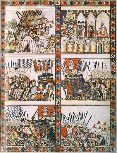 ภาพวาดแสดงเหตุการณ์ในปี ฮ.ศ.373/คศ.983