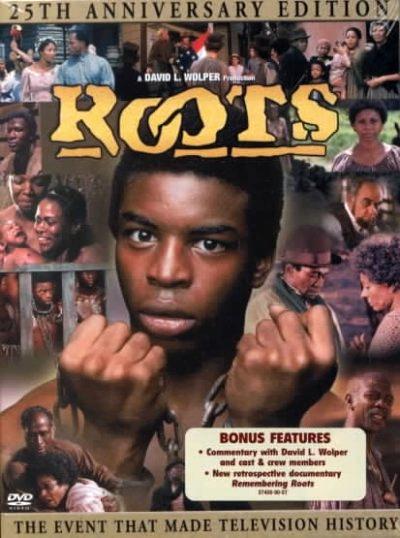 ภาพยนต์เรื่อง Roots (ที่มา https://en.wikipedia.org/wiki/Roots_(1977_miniseries))