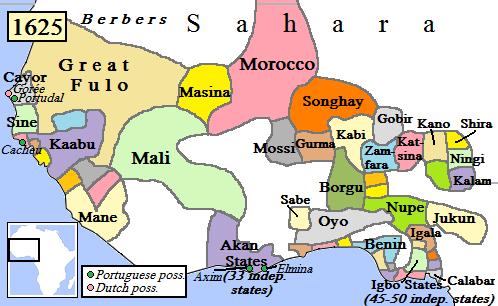 แอฟริกาตะวันตกหลังจากการรุกรานของโมร็อกโค